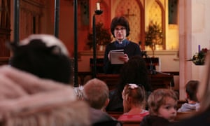 Rev Sally Gaze at St Mary's church in Newton Flotman, Norfolk