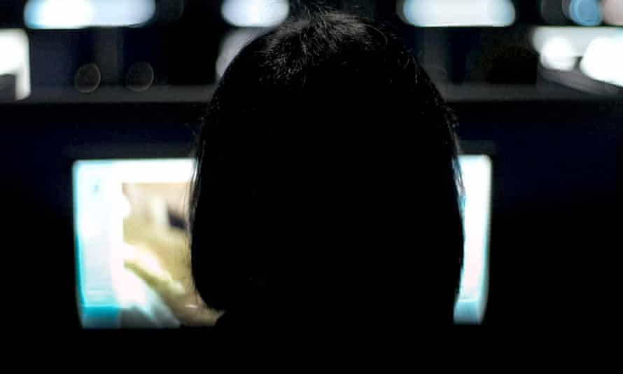 A moderator featured in the film The Cleaners: 'sobering viewing'.