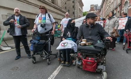 disability rights campaigners