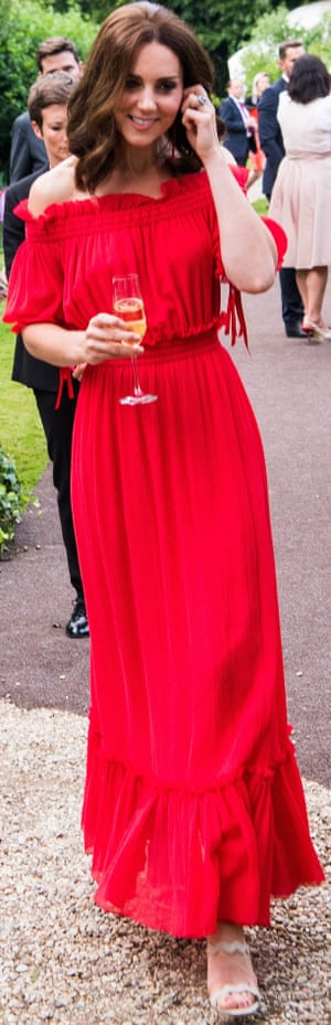 Duchess of Cambridge attends the 'Queen's Birthday Garden Party' in the garden of the residence of the British ambassador in Berlin