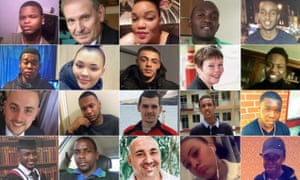 London murder victims in 2018
