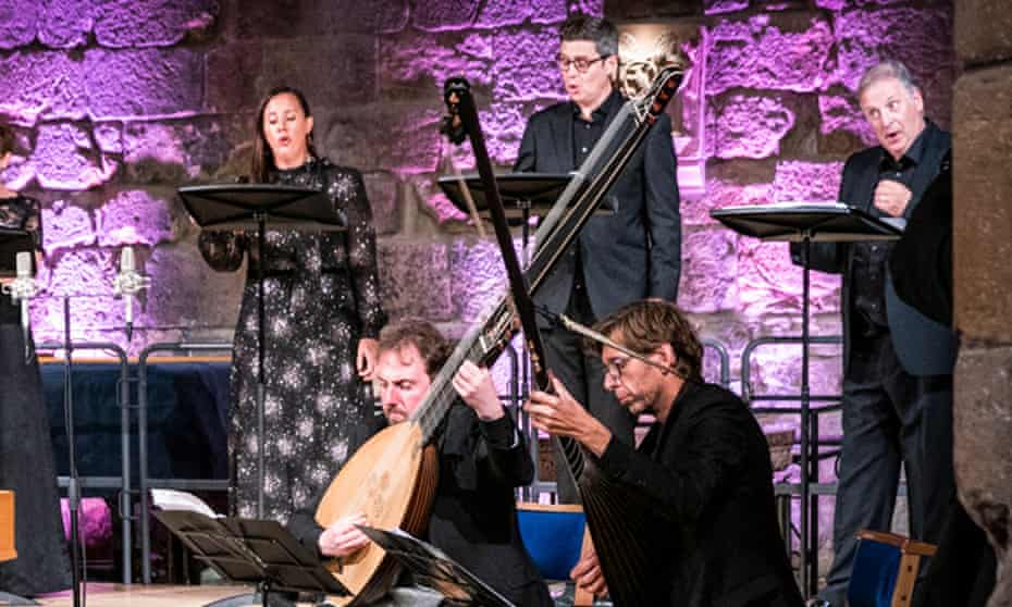 Rock solid … the Dunedin Consort perform in St Mary's Church at the Lammermuir festival.