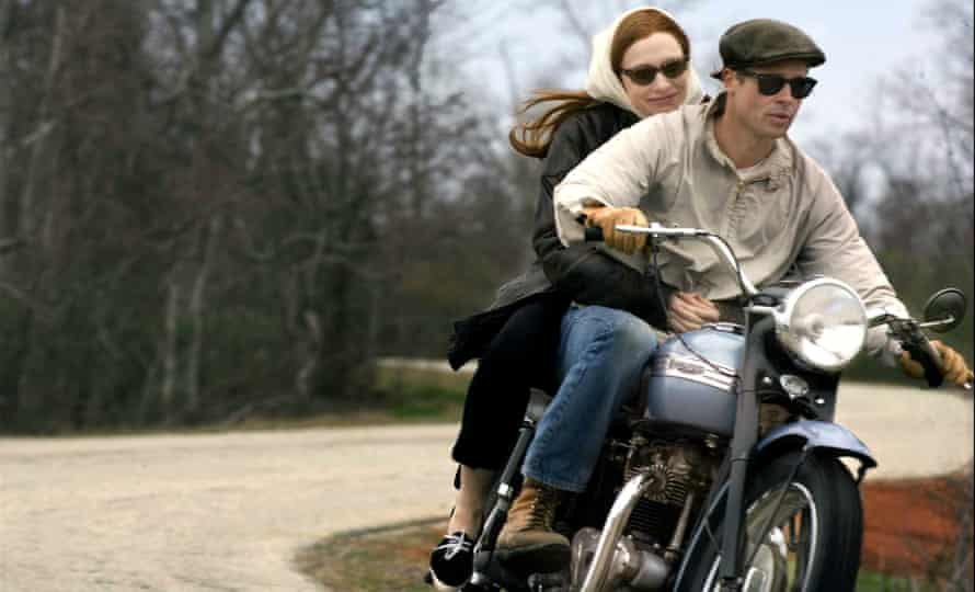 Cate Blanchett and Brad Pitt in the 2008 film version of The Curious Case of Benjamin Button, based on Scott Fitzgerald's short story about time travel