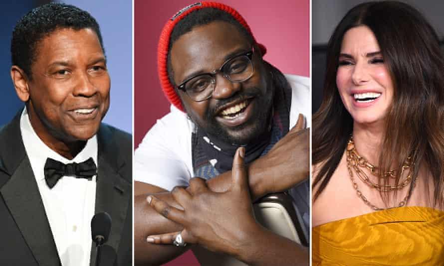 Denzel Washington, Brian Tyree Henry and Sandra Bullock.