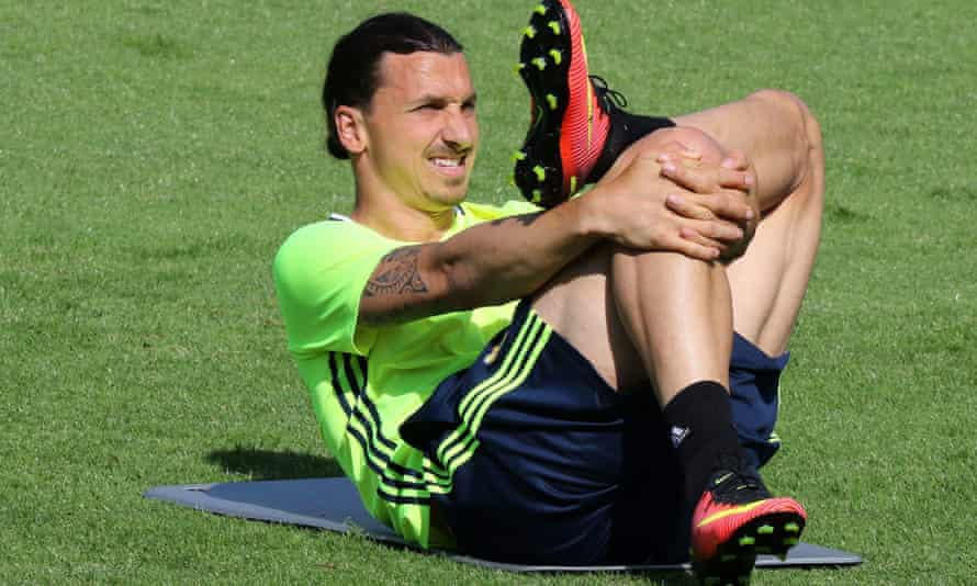 Zlatan Ibrahimovic said 'you will have to have patience' when asked if he was about to join Manchester United on Tuesday.