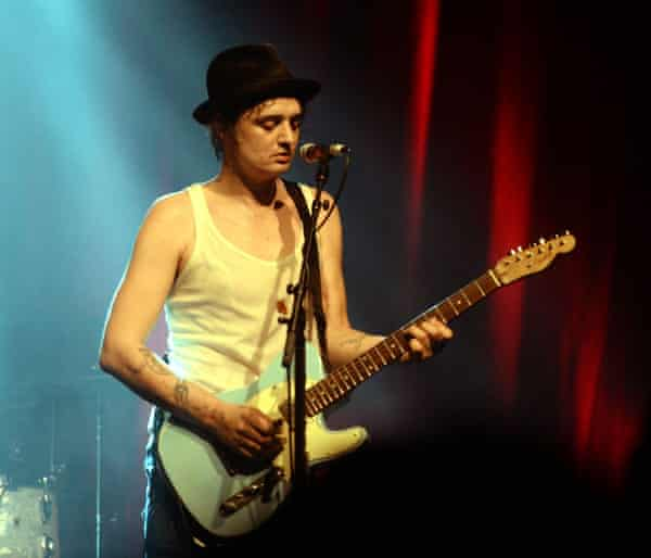 Battles with depression … Pete Doherty.