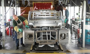Complex manufacturing supply chains mean car parts might cross UK borders as many as four times.