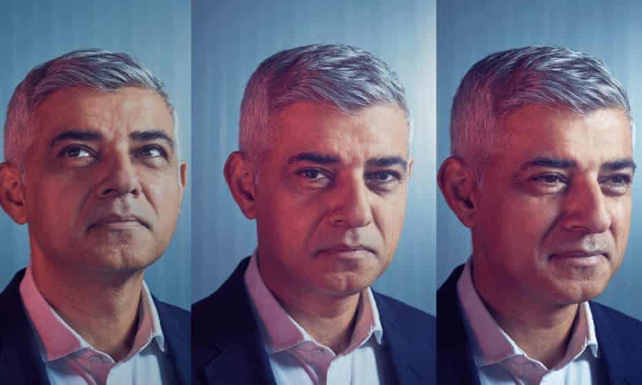 Sadiq Khan photographed at City Hall, London for the Observer New Review this month.