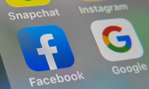 Facebook and Google apps