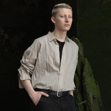 Fashion upcycler Matthew Needham.