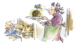 'Boundless imaginative energy': one of Quentin Blake's illustrations for A Christmas Carol