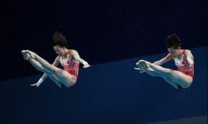 Chen Yuxi and Zhang Jiaqi