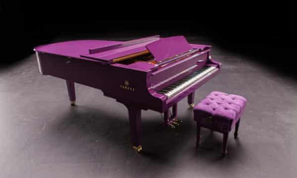 Prince purple piano