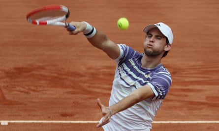 Dominic Thiem has played in three grand slam finals to date, but has lost each time.