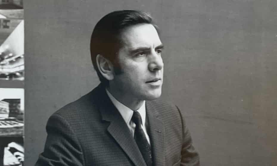 Stanley Amis in the mid-1960s. He was the 'organisation man' of his architectural practice, adept at running large and complex jobs