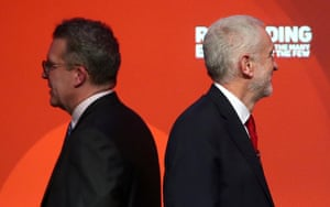 Back to back with Corbyn