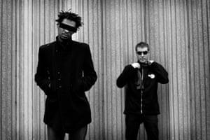 Paranoia … Massive Attack.