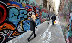 A graffitied laneway in Melbourne will probably not be the birthplace of your great Australian novel.