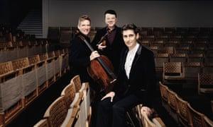 Johannes Moser, Vadim Gluzman and Yevgeny Sudbin.