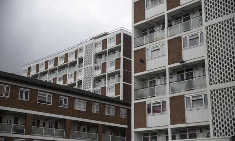 A residential tower block in Lambeth.
