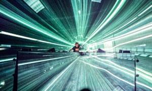 EDM act Avicii playing live