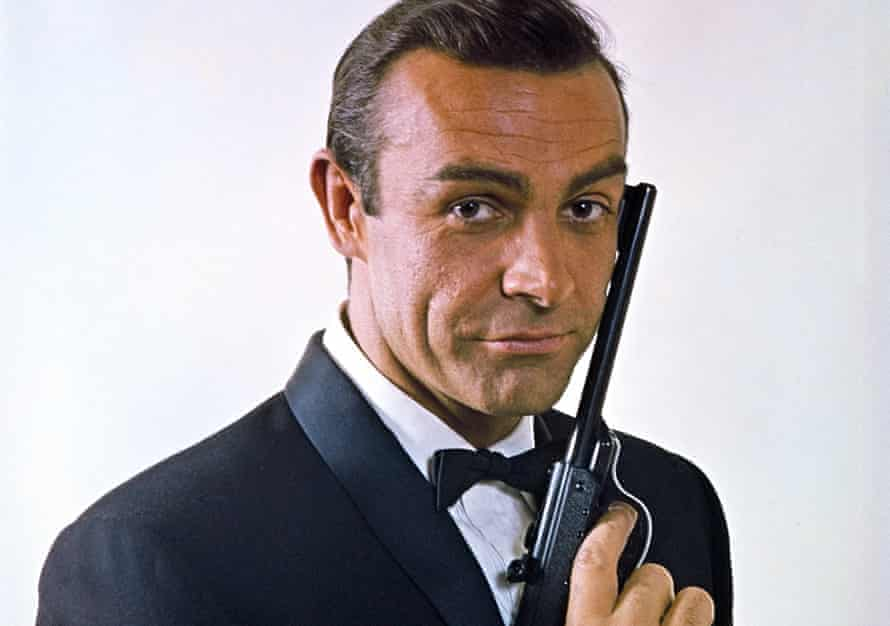 Sean Connery in the second James Bond film, From Russia With Love, 1963.