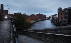 Wigan Pier. A museum and pub at the site closed a decade ago.