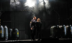 'Tireless beauty': Stuart Skelton and Nina Stemme as  Tristan and Isolde at the Met.