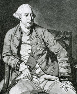 George III, whose interest in science led to his involvement in lightning conductors.
