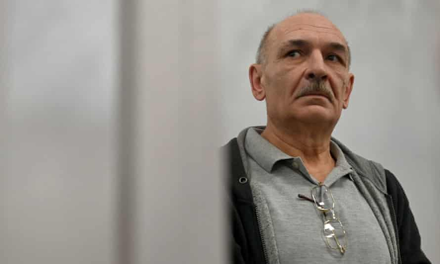 Vladimir Tsemakh, who is suspected of involvement in the downing of flight MH17.