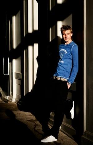 Nicklas Bendtner photographed in November 2004.