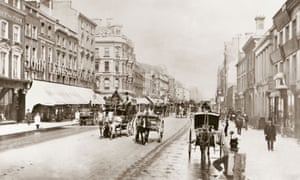 The first John Lewis shop, on Oxford Street, opened in 1864.