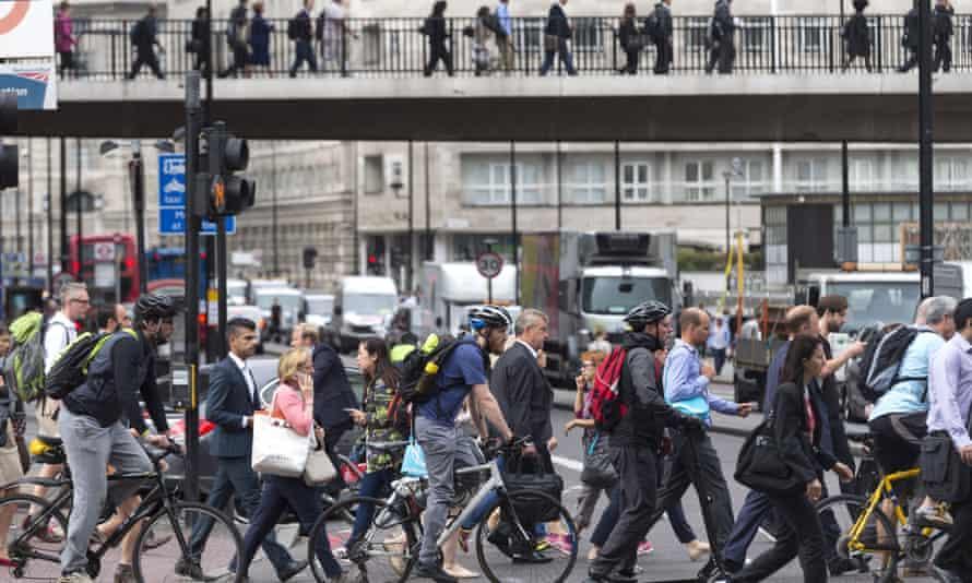 Tube strike across London Underground network, Britain.