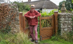 'We've become a selfish people, an unkind people' … Morpurgo at home in Devon.