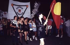 Koorie Wirguls, Sydney Gay and Lesbian Mardi Gras Parade, 1992.