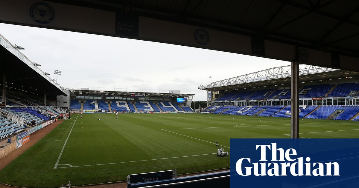 Two arrests made over alleged racist behaviour at Peterborough v Doncaster