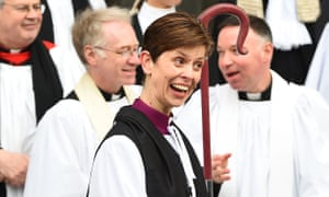 The Rev Libby Lane, the Church of England's first female bishop.