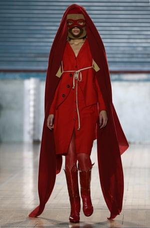 Vivienne Westwood catwalk show on Monday.