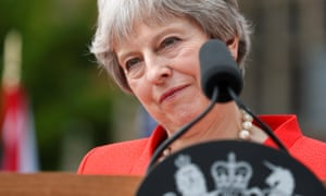 Theresa May 'had about 72 hours of experiencing what it feels to be a prime minister in control'.