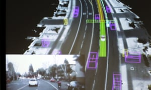 Video captured by a Google self-driving car. Autonomous vehicles of all types are likely to become bigger targets for hackers as they become more prevalent, experts say