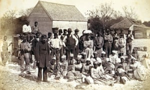 Slaves of the Confederate general Thomas F Drayton at Magnolia plantation, Hilton Head, South Carolina, in 1862, a few miles south-west of where the Stono rebellion was crushed more than a century earlier.