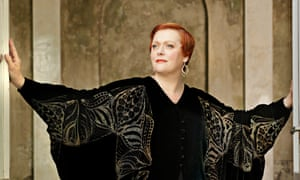 Opera star Catherine Foster will finally perform in Britain after success in Germany.