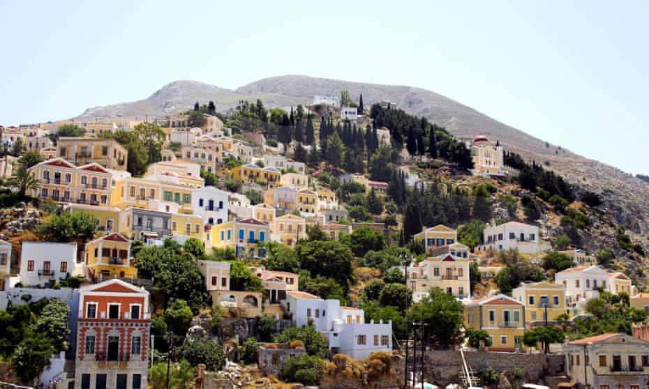 Greek Island of Symi Greece