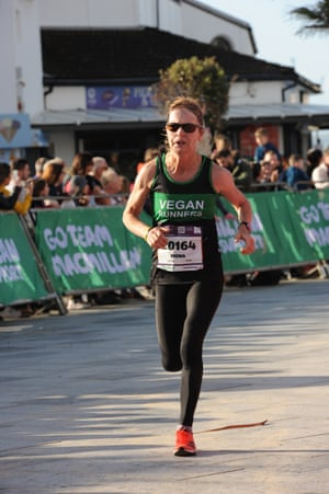 Fiona Oakes, founder of Vegan Runners.