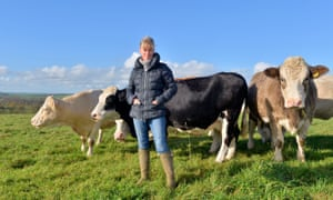 Minette Batters is the National Farmers' Union first female president in its 110-year history