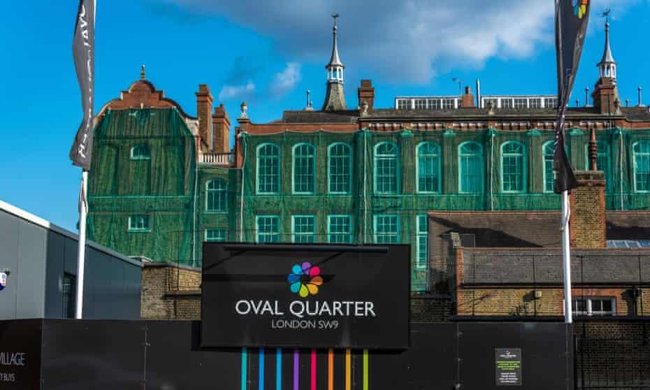 Oval Quarter, a new private housing development built alongside the refurbishment of Myatts Field North estate.