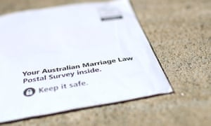The Australian marriage law postal survey forms are being sent out to households across Australia.