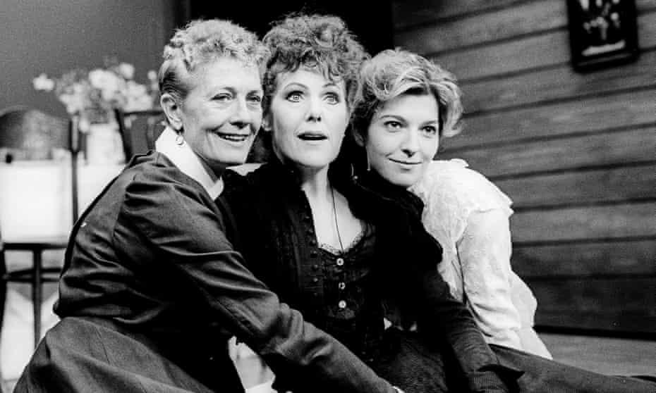 Vanessa Redgrave (Olga), Lynn Redgrave (Masha) and Jemma Redgrave (Irina) in Three Sisters in 1990.
