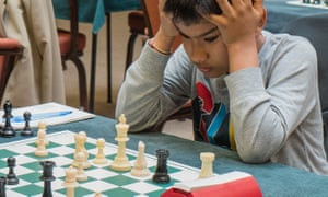 Shreyas Royal has been described by Chris Ward, a chess grandmaster, as 'the best prospect the country has ever seen'.