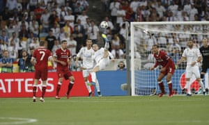 Gareth Bale's bicycle kick came just moments after he had come off the Real Madrid bench as a substitute.